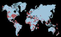 Mapa de clientes de ApplianSys
