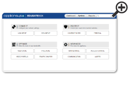 Screenshot of Edugatebox interface